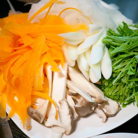 しゃぶしゃぶ用野菜