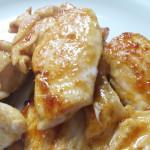 鶏肉と生姜も意外とおいしい!脂少なめなのにコクたっぷり。