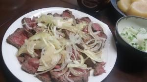 牛タタキサラダ