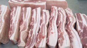 鹿児島県産皮付き豚バラ1kg