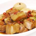 豚角煮というたべもの。